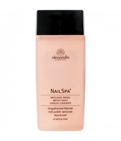 Alessandro NailSpa Rose Nail Polish Remover 135 ml