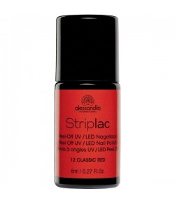 Alessandro Striplac 12 Classic Red 8 ml