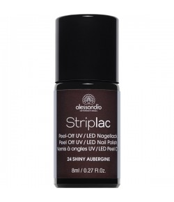 Alessandro Striplac 24 Shiny Aubergine 8 ml
