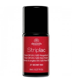 Alessandro Striplac 27 Secret Red 8 ml