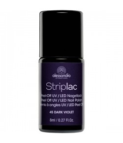 Alessandro Striplac 45 Dark Violet 8 ml
