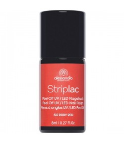 Alessandro Striplac Red Stars Ruby Red 8 ml