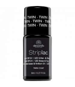 Alessandro Striplac Twin Coat Base & Top 8 ml
