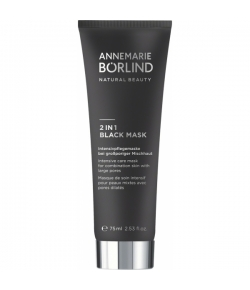 Annemarie B�rlind Beauty Masks 2 in 1 Black Mask 75 ml
