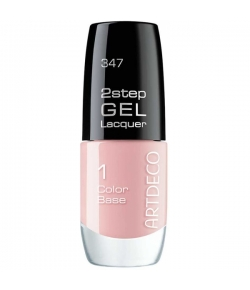 Artdeco 2step Gel Lacquer Color Base 347 on rosy clouds 6 ml