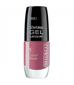 Artdeco 2step Gel Lacquer Color Base 380 rosewood affairs 6 ml