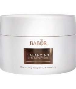 BABOR Spa Balancing Cashmere Wood Soothing Sugar Oil Peeling 200 ml