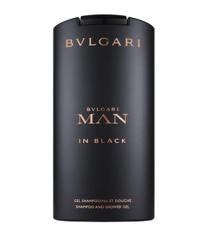 Bvlgari Man In Black Shampoo & Shower Gel 200 ml
