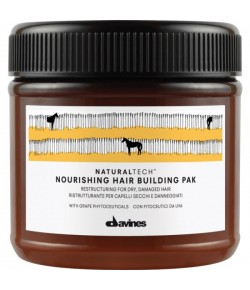 Davines Natural Tech Nourishing Hair Building Pak
