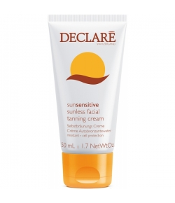 Declare Sun Sensitive Sunless Facial Tanning Cream 50 ml