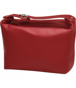 Erbe Collection Kulturtasche XL, rot 27 x 21 cm, mit Henkel