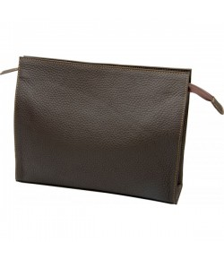 Erbe Collection Kulturtasche, braun, 26 x 20 cm