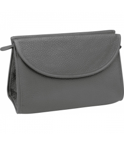 Erbe Collection Kulturtasche, grau, 24,0 x 16,0 cm