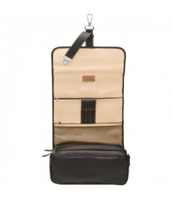 Erbe Collection Kulturtasche, schwarz, 27,0 x 18,0 cm