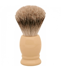 Erbe Shaving Shop Rasierpinsel Elfenbein-Look, Gr��e XL