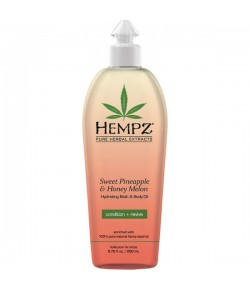 Hempz Hydrating Bath & Body Oil 200 ml
