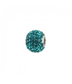 Impala Bead 14mm blue zircon