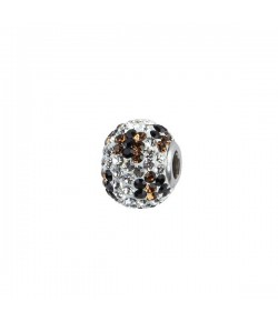 Impala Bead 14mm leo white