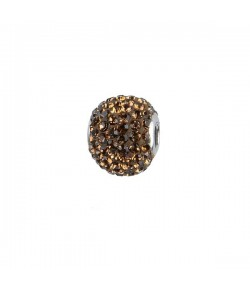 Impala Bead 14mm smoked topaz