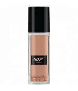 James Bond 007 For Women Deodorant Natural Spray 75 ml