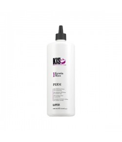 KIS Kappers Perm Keratin Wave 1 - normales Haar 1000 ml
