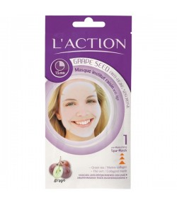 L'Action Grape Seed Anti-Aging Spa Mask