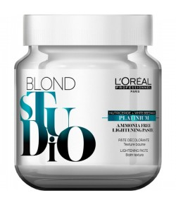 L'Oreal Professional Blond Studio Platinium Lightening Paste ohne Ammoniak 500 g