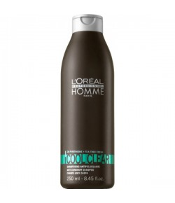 L'Oreal Professional Homme Cool Clear Anti Dandruff Shampoo 250 ml