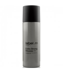 Label.M Extra Strong Mousse 200 ml