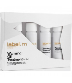 Label.M Warming Oil Treatments Pack Pack 4x 15 ml
