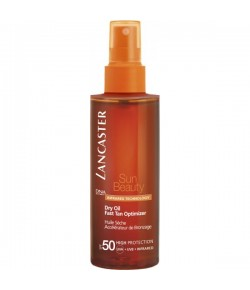 Lancaster Sun Beauty Dry Oil Fast Tan Optimizer SPF 50...