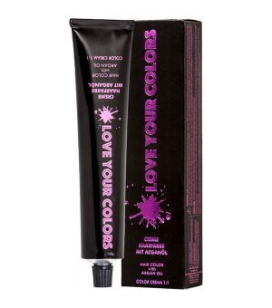 Love Your Colors 5.46 Hellbraun Rot-Violett 100 ml