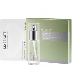 M2 Beaute Ultra Pure Solutions Hybrid Second Skin Eye Mask Collagen 14 Stk.