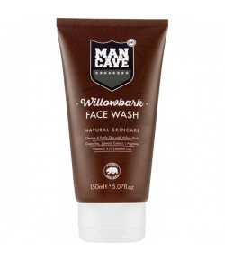 Man Cave Willowbark Face Wash 125 ml