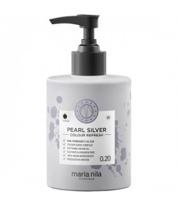 Maria Nila Colour Refresh Pearl Silver 0.20 - Farbmaske 300 ml