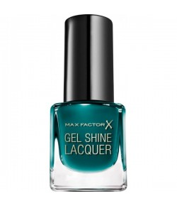 Max Factor Mini Gel Shine Lacquer 45 Gleaming Teal 4,5 ml