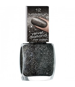 Misslyn Velvet Diamond Nail Polish Nagellack Universe 12 10 ml