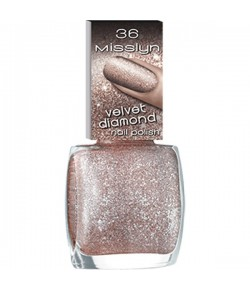 Misslyn Velvet Diamond Nail Polish Nagellack Champagne 36 10 ml