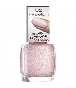 Misslyn Velvet Diamond Nail Polish Nagellack Sugary 32 10 ml