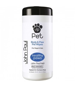 Paul Mitchell John Paul Pet Full Body & Paw Pet Wipes 45 T�cher