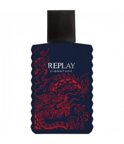 Replay Signature for Man Red Dragon Eau de Toilette (EdT) 30 ml