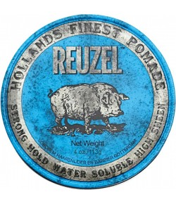 Reuzel Haarstyling Blue Str. Hold Water Soluble Pomade 113 g