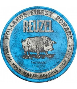 Reuzel Haarstyling Blue Str. Hold Water Soluble Pomade 35 g
