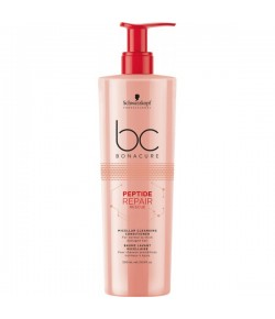 Schwarzkopf BC Bonacure Peptide Repair Rescue Micellar Cleansing Conditioner