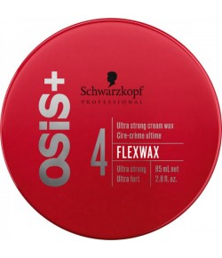 Schwarzkopf Osis Texture Flexwax Ultra Strong Cream Wax 85 ml