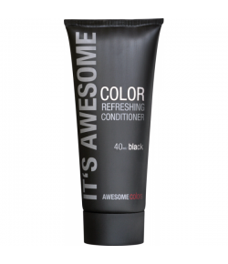 Sexyhair Awesomecolors Color Refreshing Conditioner Black 40 ml