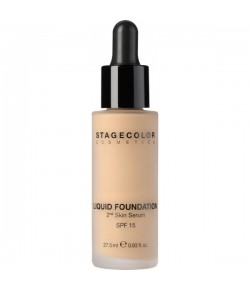 Stagecolor Liquid Foundation 2nd Skin Serum SPF 15 Olive Beige 27,5 ml