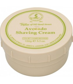 Taylor of Old Bond Street Avocado Shaving Cream 150 g