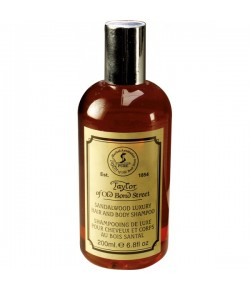 Taylor of Old Bond Street Sandalwood Hair & Body Shampoo 200 ml