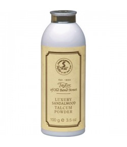 Taylor of Old Bond Street Sandalwood Luxury Talcum Powder 100 g